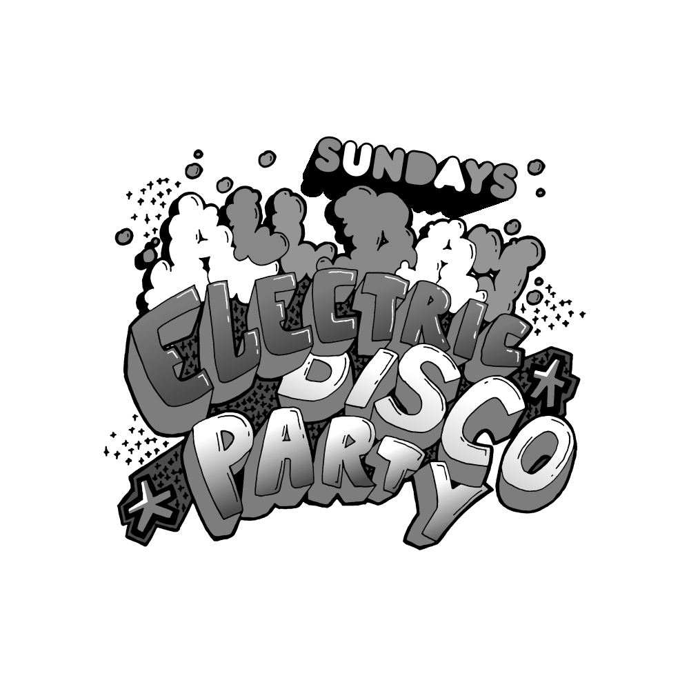 All Day Electric Disco Party - Logo