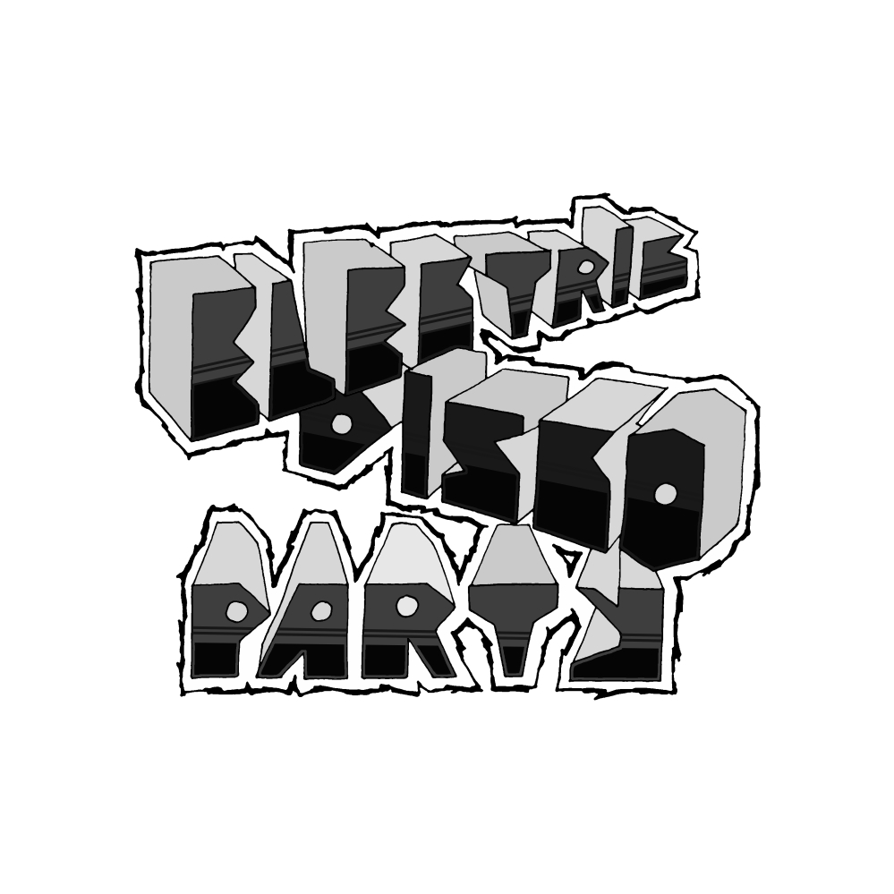 Electric Disco Party - Logo II