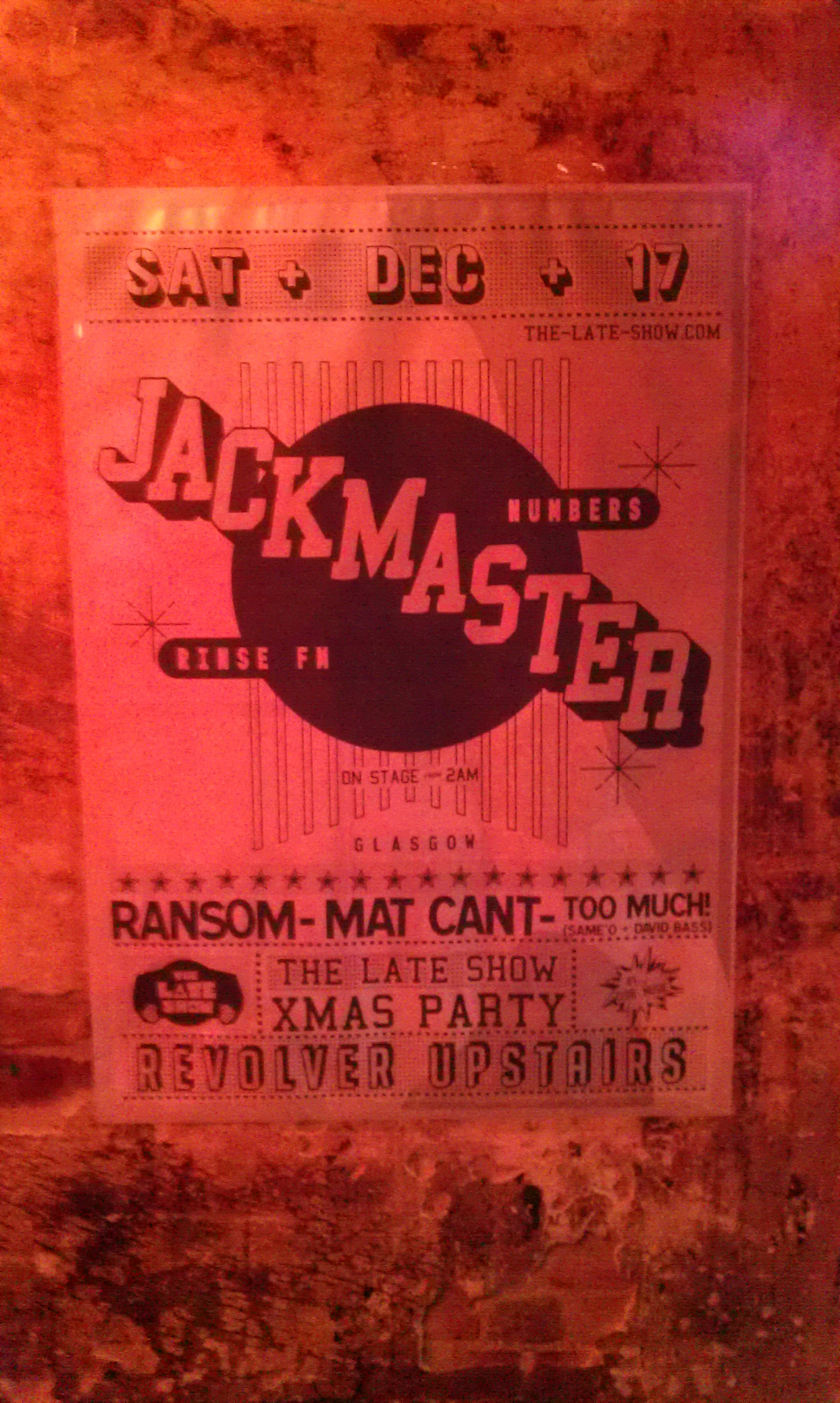 Jackmaster - BnW - Poster - 2