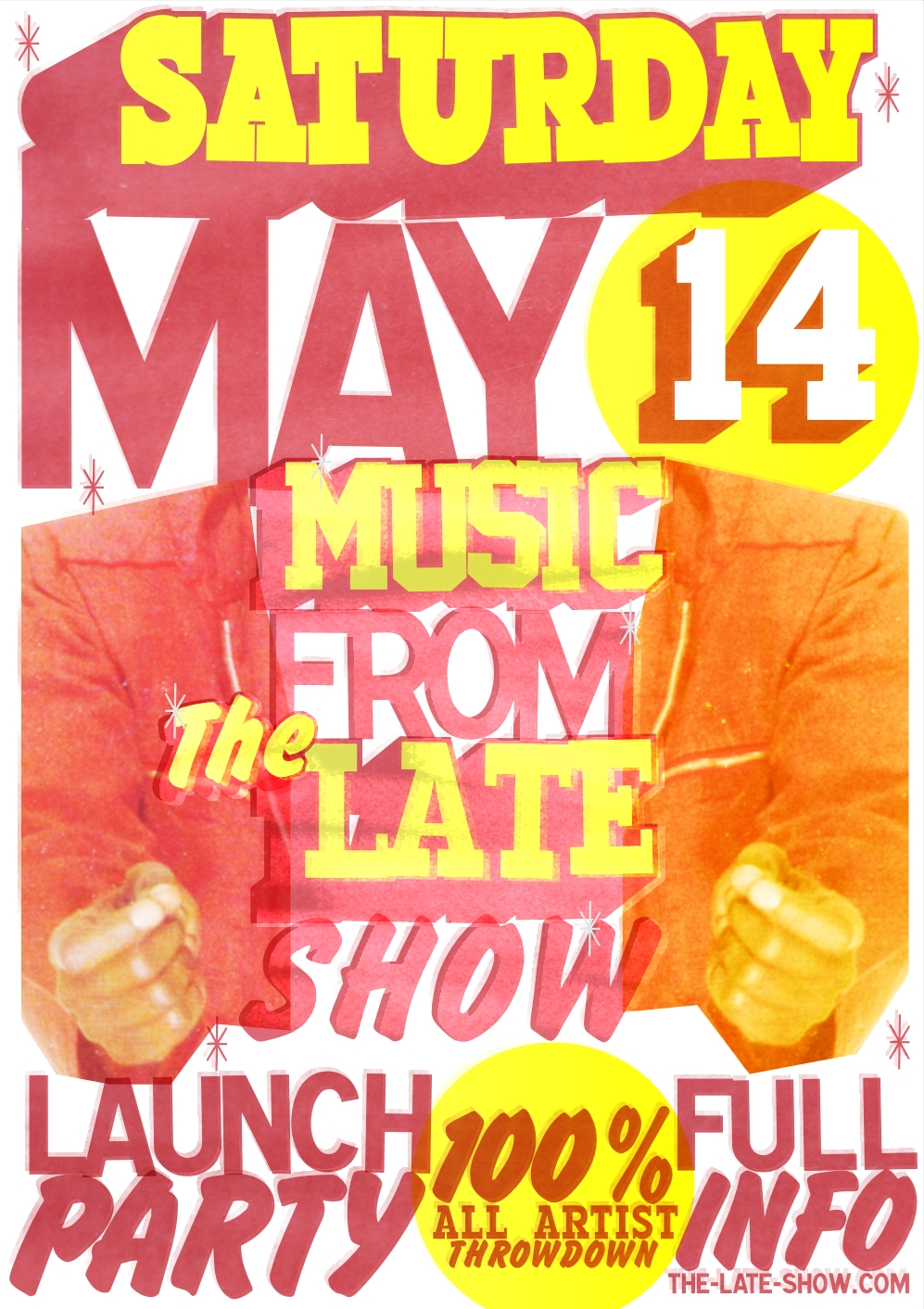 Music From The Late Show - Launch Party - May 14th 2011