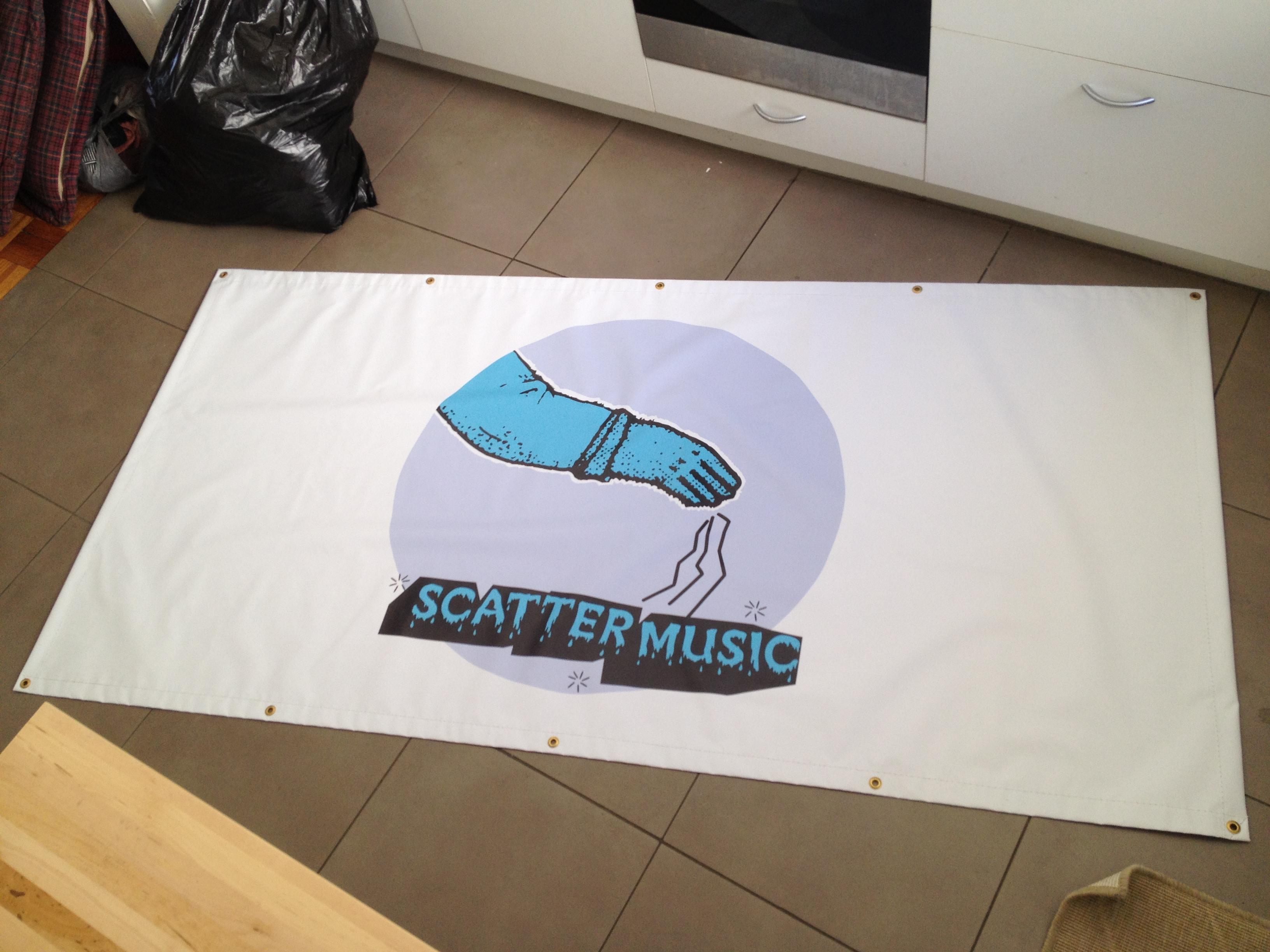 Scattermusic - Banner