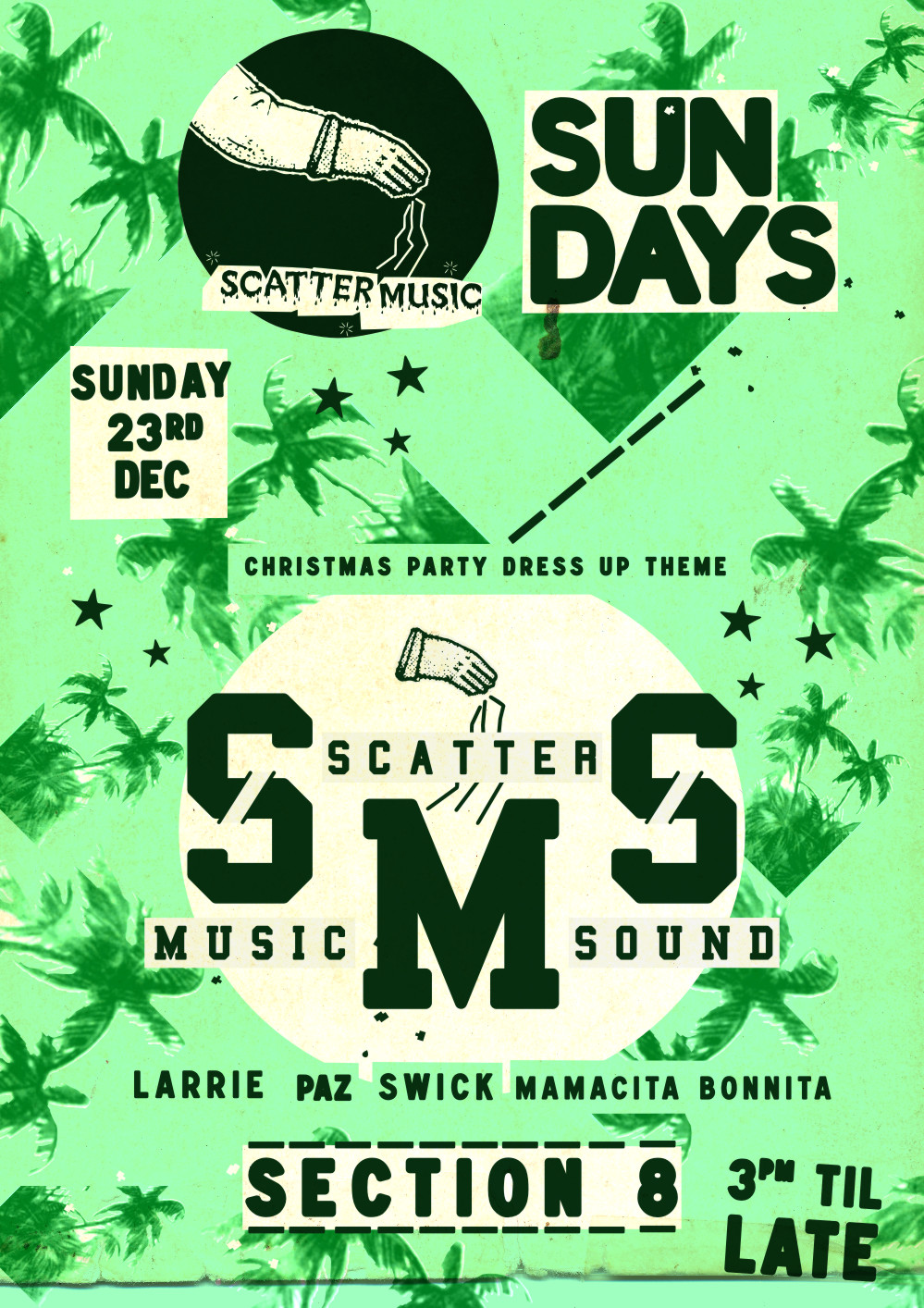 Scattermusic Sundays - December 23 2012 - Xmas Party