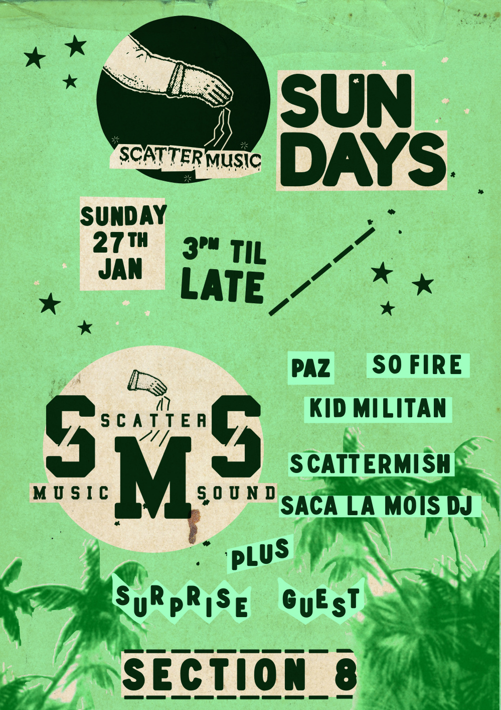 Scattermusic Sundays - January 27 2013