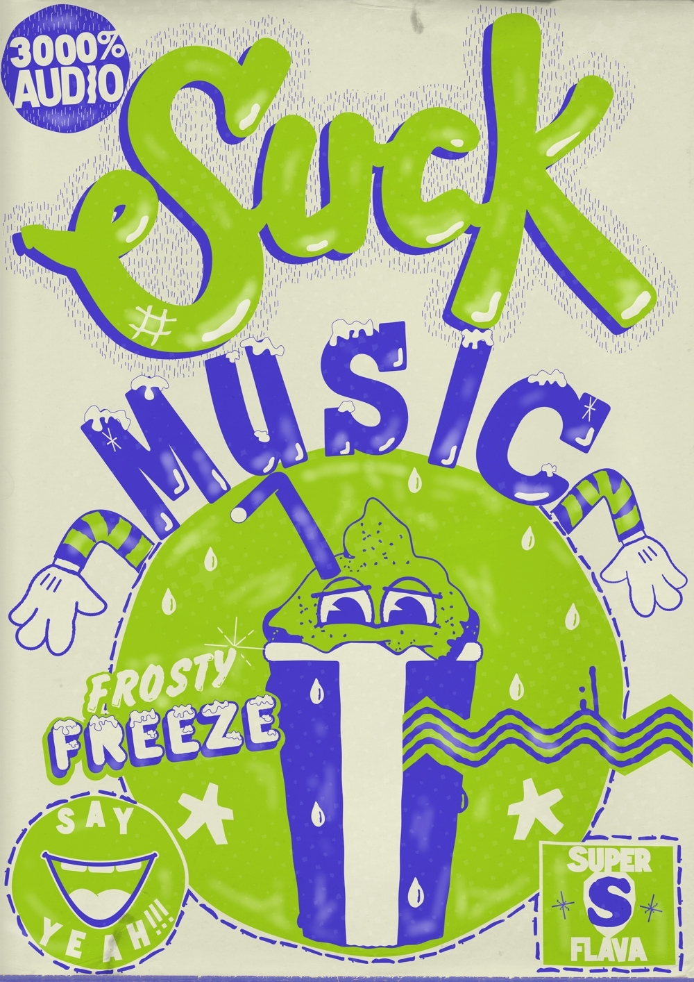 Suck Music Poster 2 - July 2011