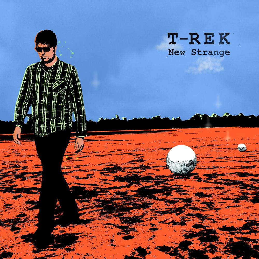 T-Rek - New Strange - Promo Cd - Paper