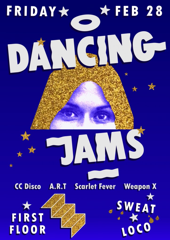 Dancing Jams - First Floor -Friday - Feb 28th - E-Flyer