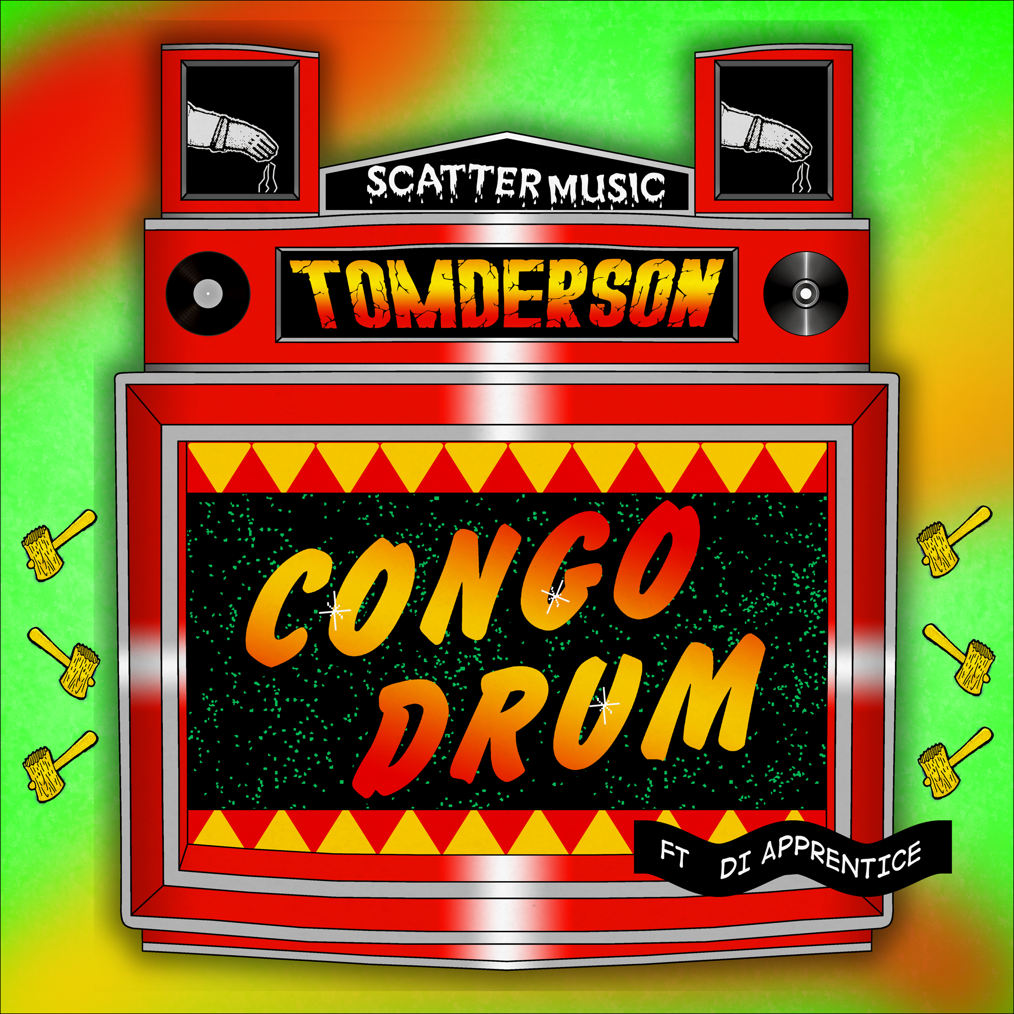 Tomderson - Congo Drum ft Di Apprentice - 2000x2000
