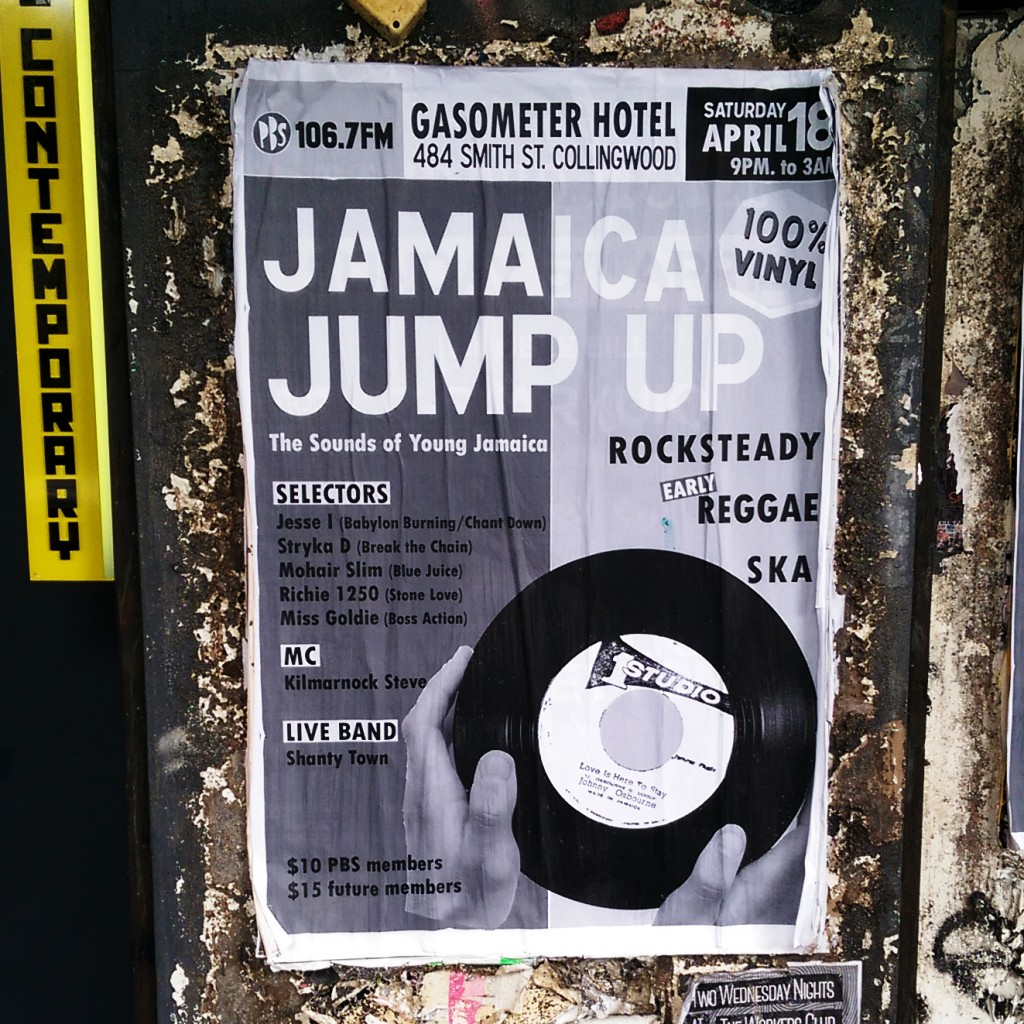 JAMAICA JUMP-UP - The Sounds of Young Jamaica - Street Poster