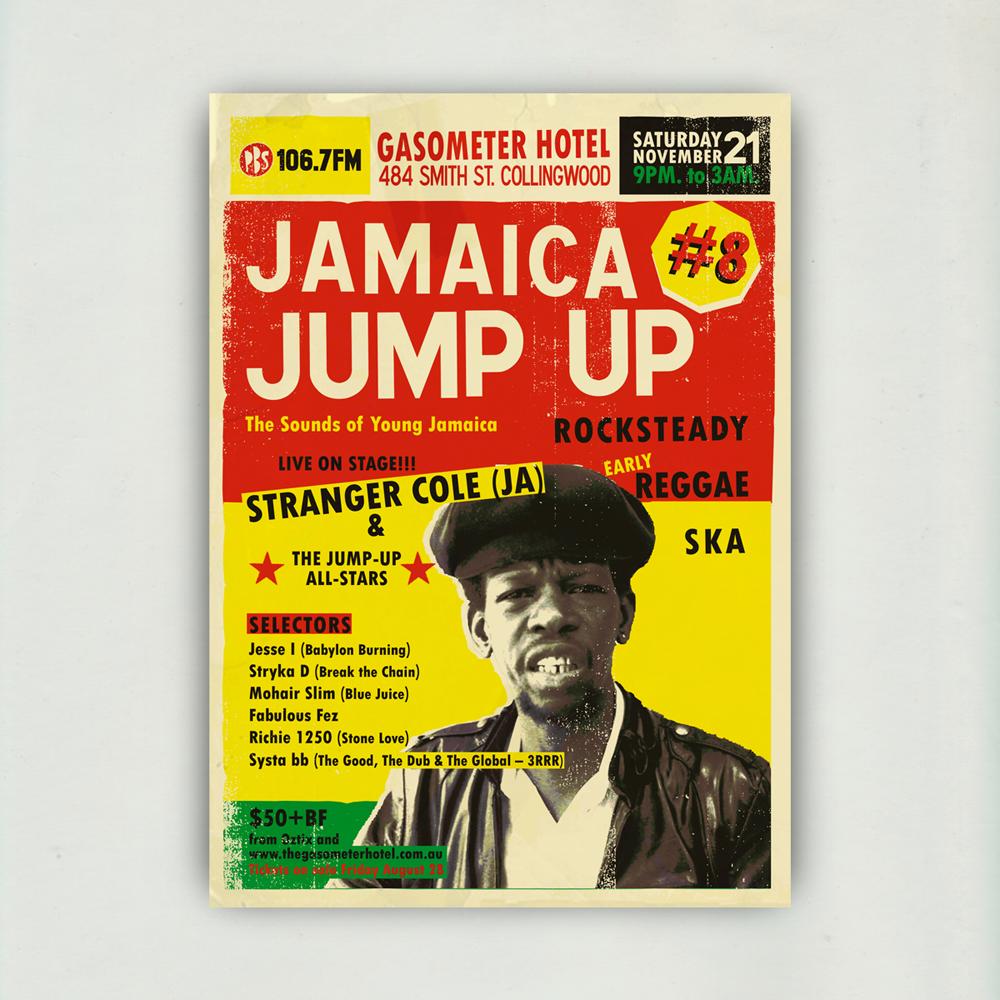 JAMAICA JUMP-UP - Stranger Cole - Web Poster